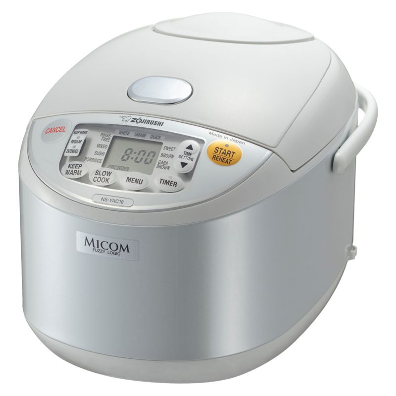 Zojirushi Umami Micom 10-Cup Rice Cooker and Warmer, White thumbnail